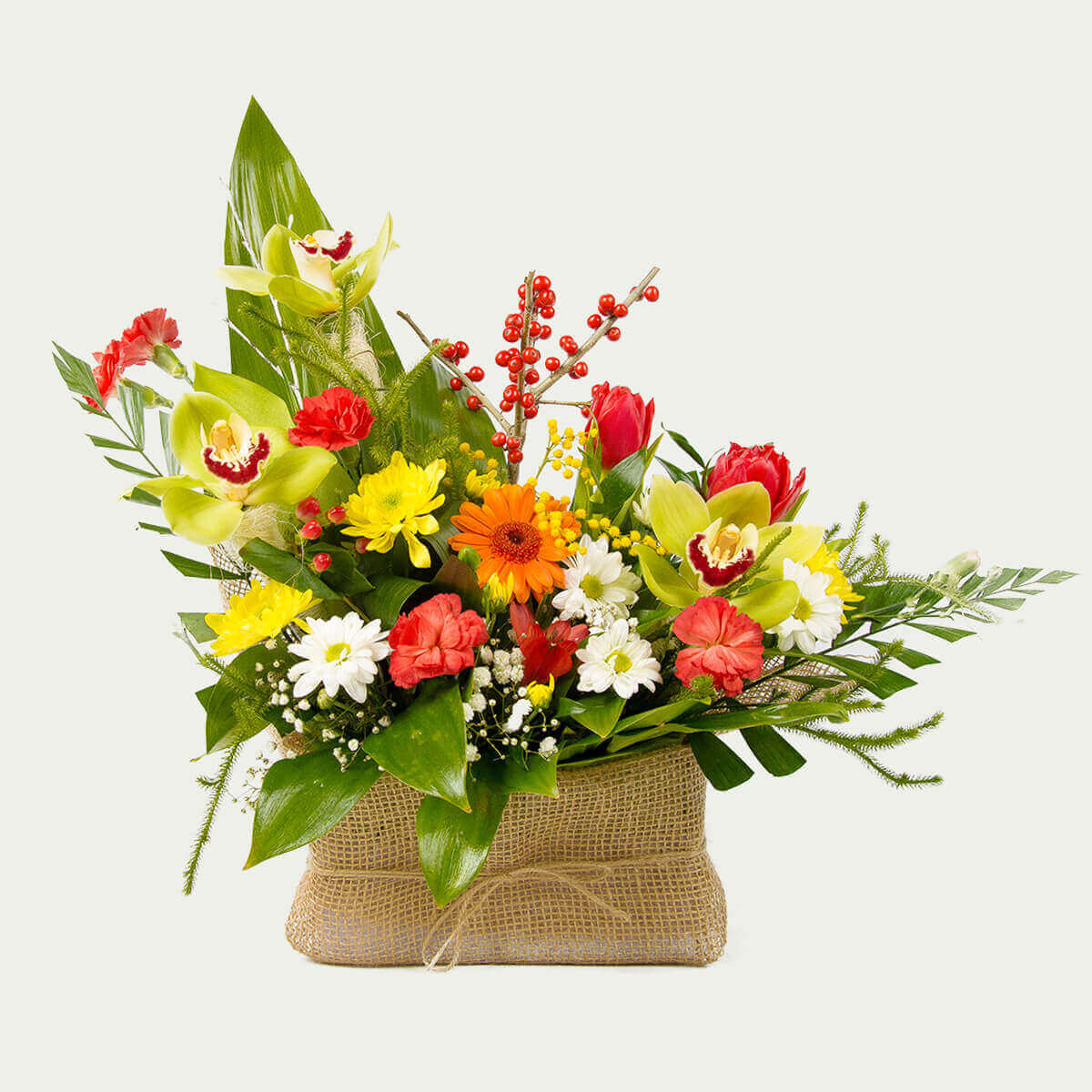 "Basket of Flowers ""Summer Mix"""