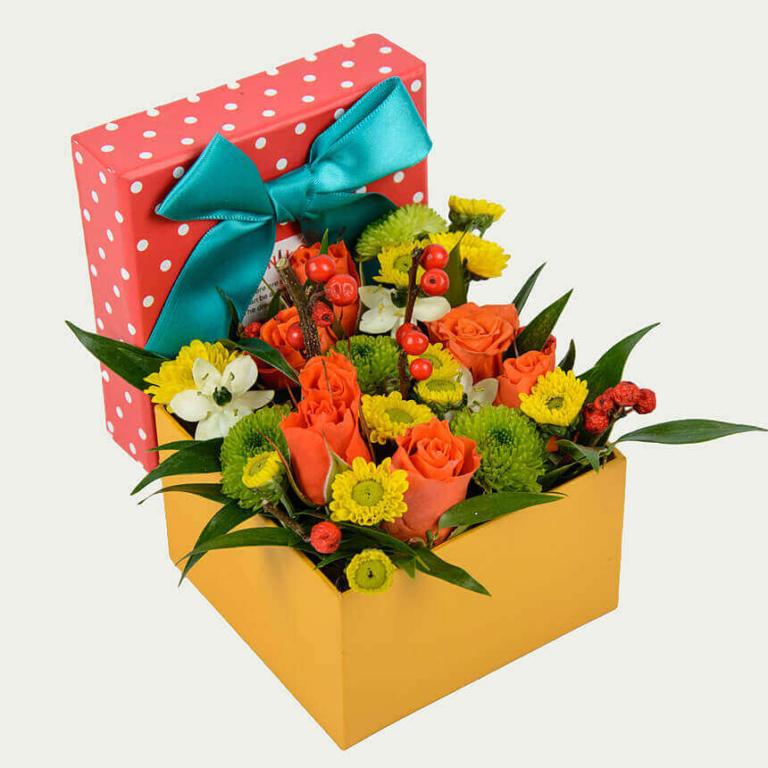+Квіткова коробка