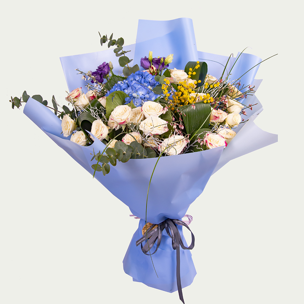 "Bouquet ""Blue Harbor"""