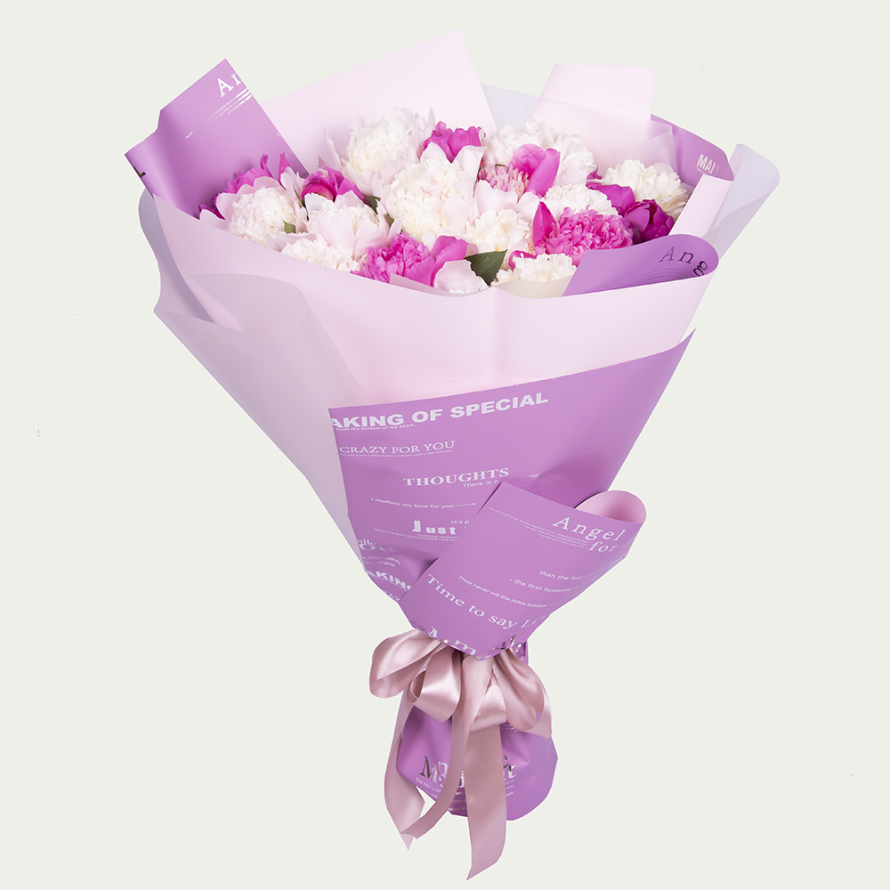 "Bouquet ""Delicate marshmallows"""
