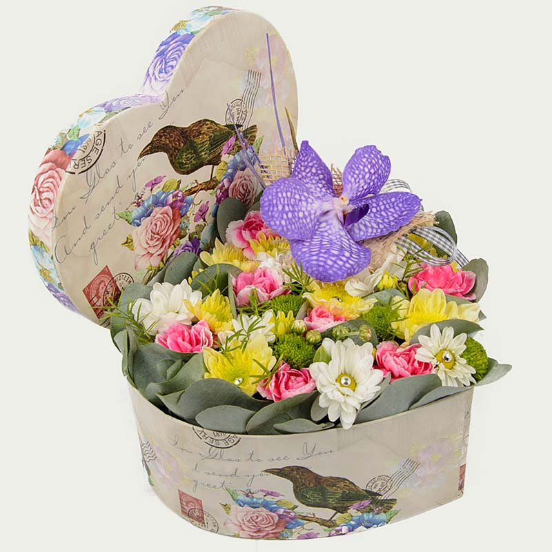 """Flower Box """"Notes of Lavender"""""""